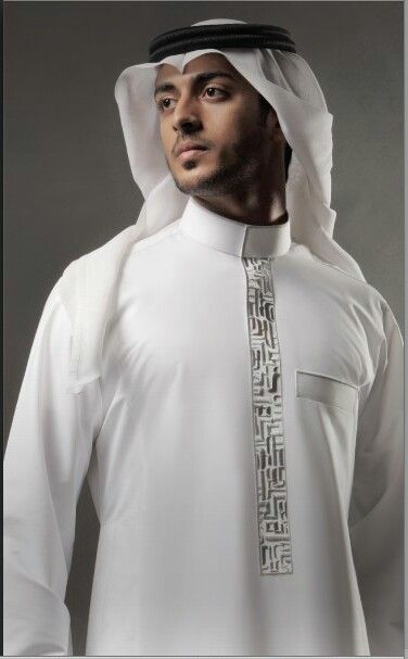 Near East, Persian, Thobe or Thawb ثَوب‎ , Kandura كَندورَة in United Arab Emirate. Long garment with formal or casual versions