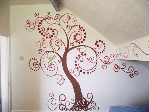 10 best tree mural images on Pinterest   Tree murals ...