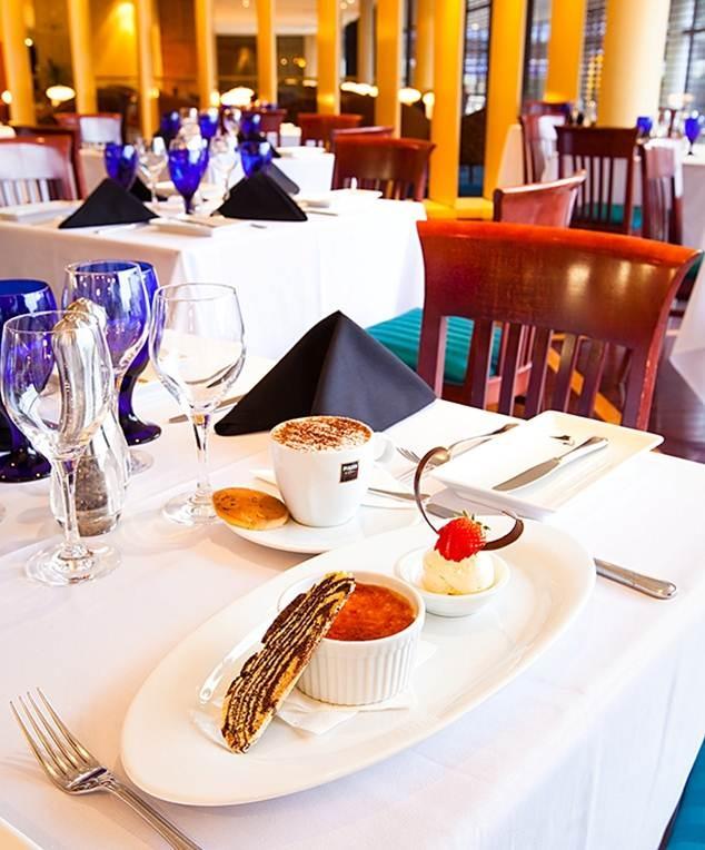 The Grill Restarurant at Amora Hotel Wellington New Zealand