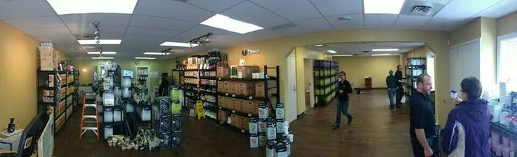 Panoramic of our newly renovated Sackville location.