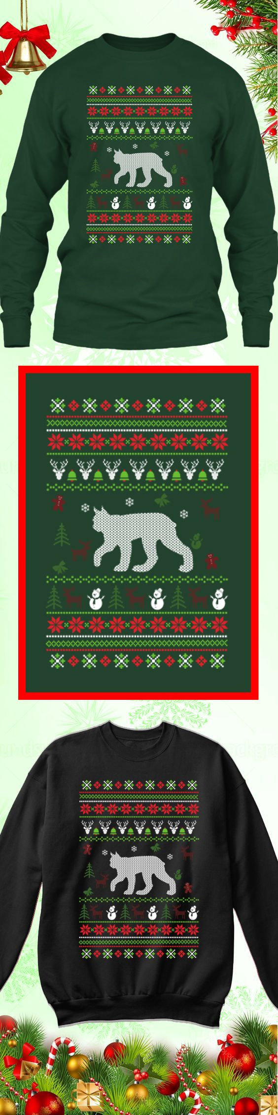 Need a last minute Christmas Gift? Get this limited edition Lynx Ugly Christmas Sweater while supplies last! Buy 2 or more, save on shipping!