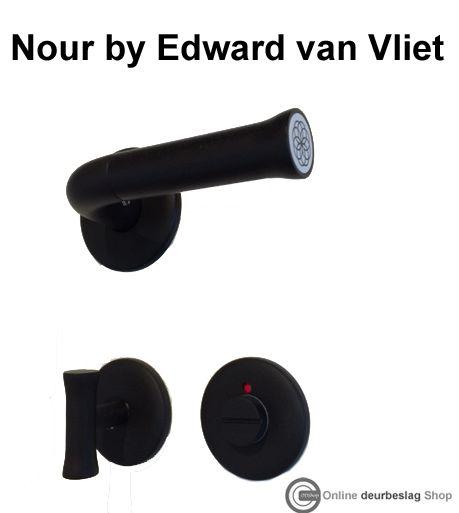 Exclusieve deurkruk set ontworpen door Edward van Vliet
