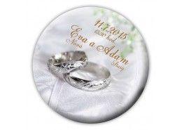 Svadobné oznámenie magnet - SM005