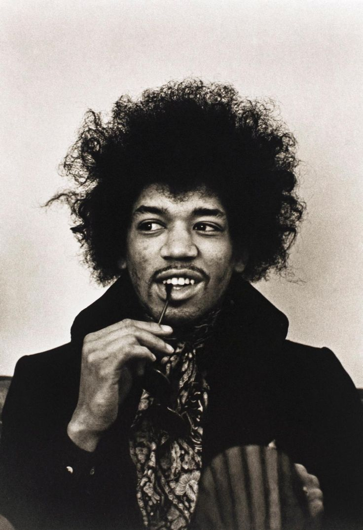 Jimi Hendrix was the height of cool in the 1960s and was widely regarded as one of the most influential electric guitar players of all time before he died from barbiturate-related asphyxia at just 27 years old in 1970.