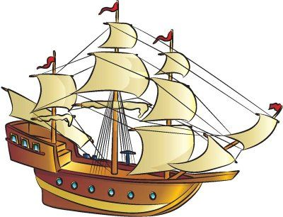 how to draw a pirate ship ~ in 9 steps ~ photo tutorial ~ tlc.howstuffworks.com ~ diy for kids