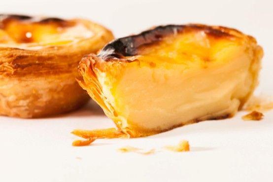 pastel de nata - Portuguese Nata tart