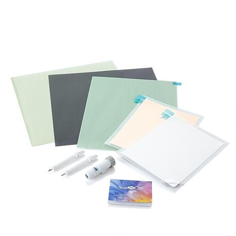 Shop Brother ScanNCut Embossing Starter Kit 8328744, read customer reviews and more at HSN.com.