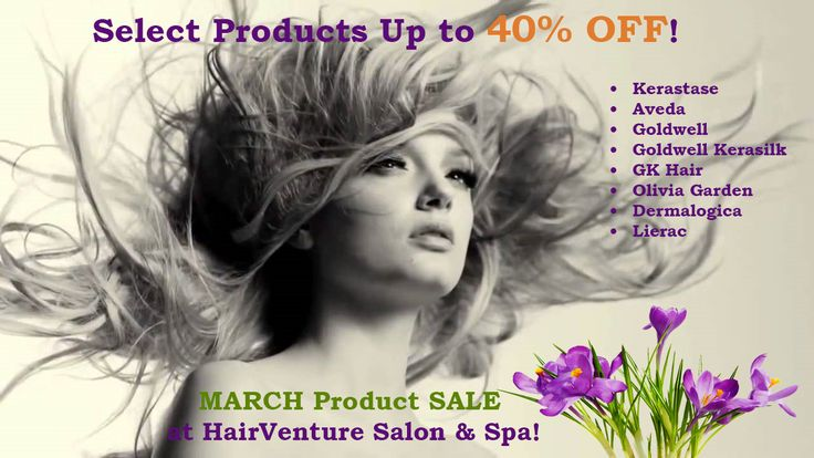 HairVenture March Product Sale