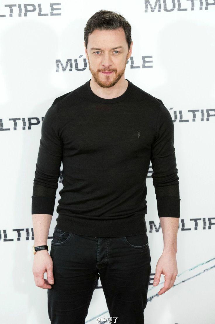 James McAvoy promoting the film Split (2016)
