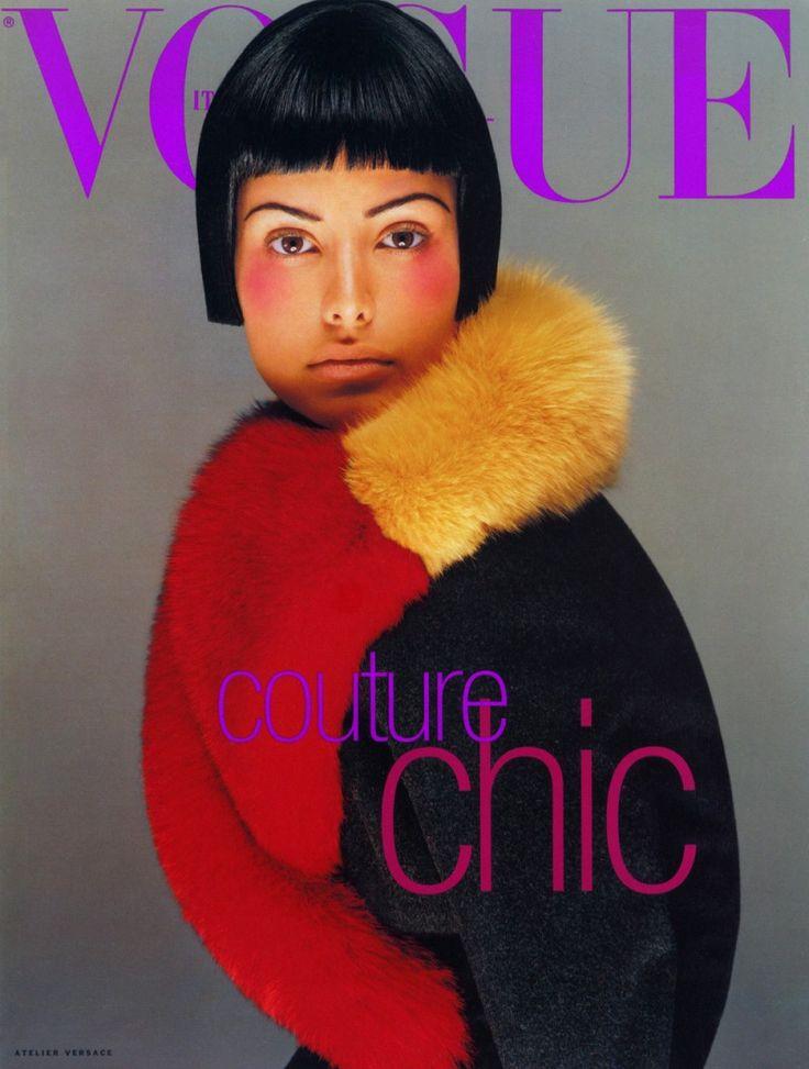 Vogue Italy Supplement Cover September 1996 - Elsa Benitez by Steven Meisel