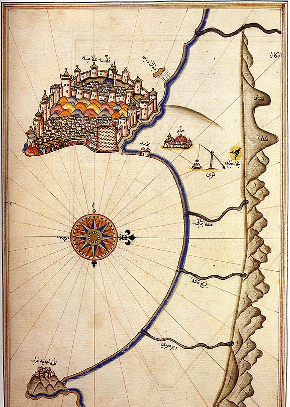 piri reis map   Hyperborean Vibrations: The Piri Reis Map