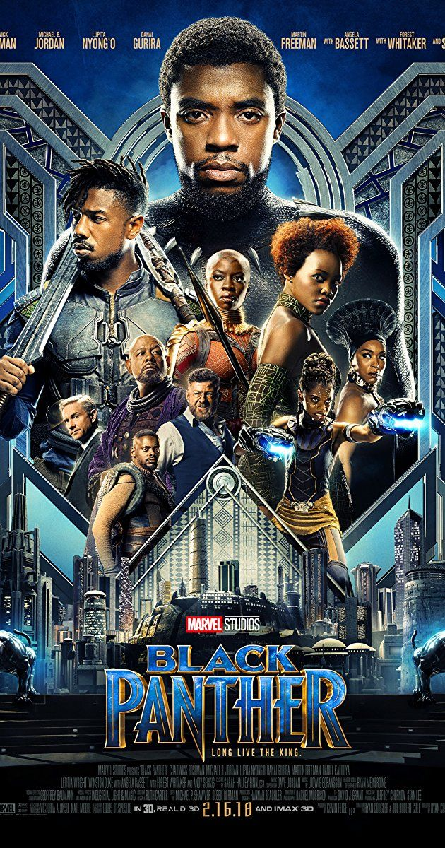 Directed by Ryan Coogler. With Chadwick Boseman, Michael B. Jordan, Lupita Nyong'o, Danai Gurira. T'Challa, after the death of his father, the King of Wakanda, returns home to the isolated, technologically advanced African nation to succeed to the throne and take his rightful place as king.