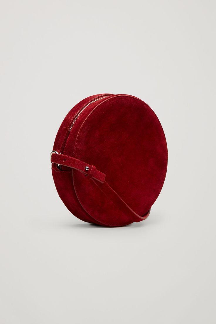 COS image 8 of Circular shoulder bag in Red