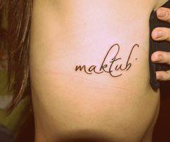 imagem de tatuagem escrito maktub - Resultados da busca Yahoo Search Results…