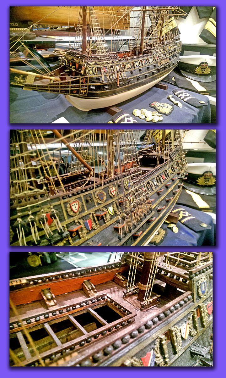 Maritime Model Museum: 18TH CENTURY ENGLISH MAN O WAR