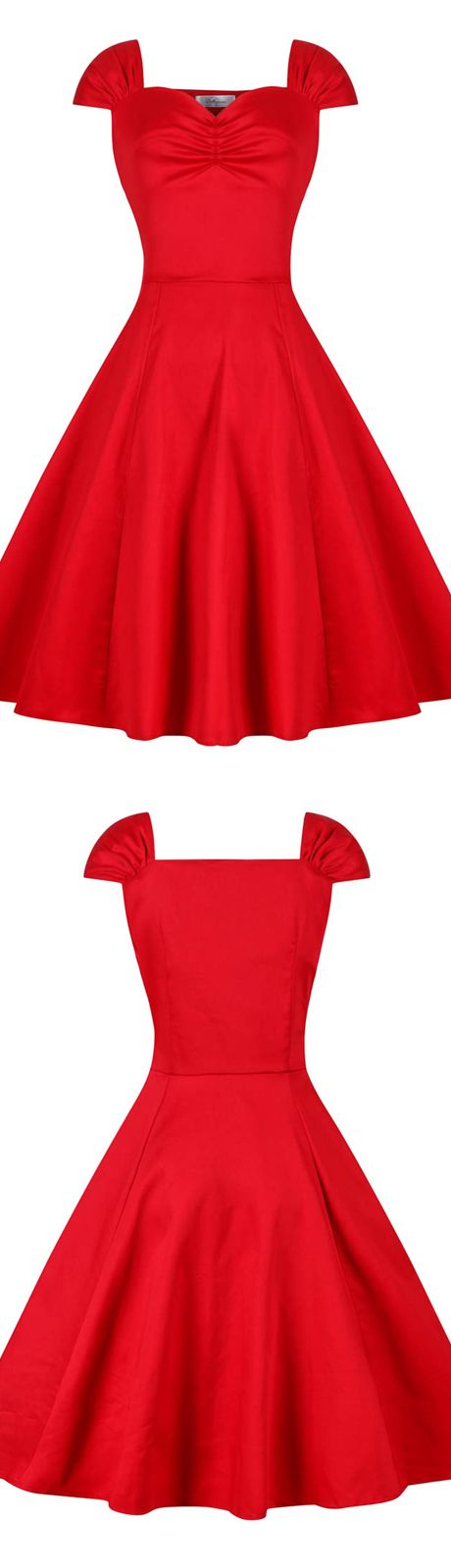 Best 25  Vintage red dress ideas on Pinterest | 1950s fashion ...