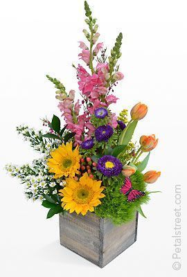 20 best Triangular floral arrangements images on Pinterest