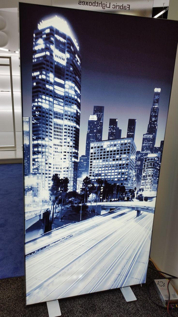 LED Fabric Frameless Display 7