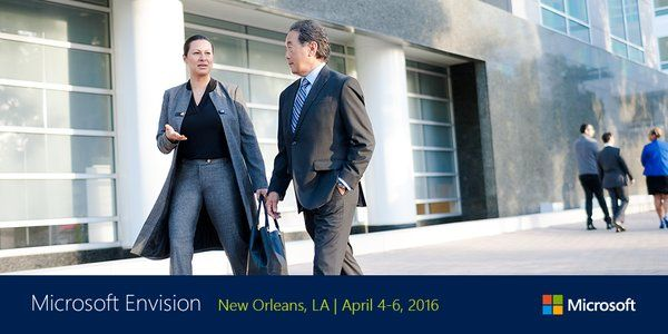 Excitement is Building for Microsoft Envision Conference 2016