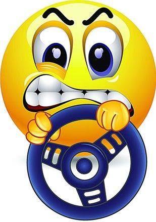 vzteklý řidič