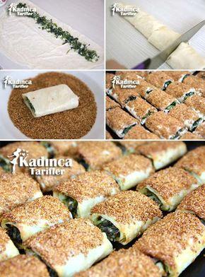 Pastane Usulü Ispanaklı Börek Tarifi Kadincatarifler.com - En Nefis Yemek Tarifleri Sitesi - Oktay Usta