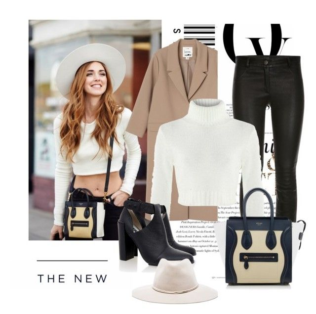 """Céline Bag"" by eiram-schultz on Polyvore featuring Monki, CÉLINE, Senso, rag & bone, Envi and American Eagle Outfitters"