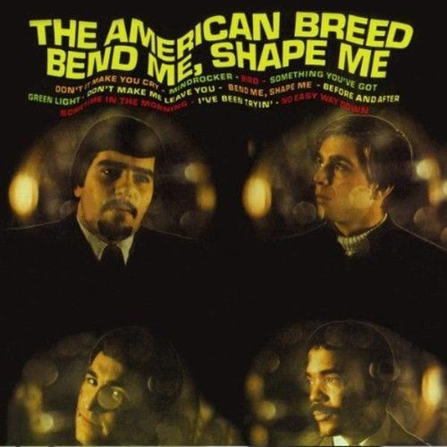 "The American Breed – Bend Me, Shape Me (1968): The American Breed was a male quartet (Al Ciner, Gary Loizzo, Lee Grazanio and Chuck Colbern) that scored a Top Ten hit with their Bend Me, Shape Me single in 1968. This was their second of five album releases plus ""Best Of"" albums. I found this album to be surprisingly entertaining. Favorite tracks: Bend Me, Shape Me*Something You've Got*Don't Make Me Leave You*Green Light*Don't It Make You Cry. I enjoyed them on vinyl today, 12/14/2016. Rating…"