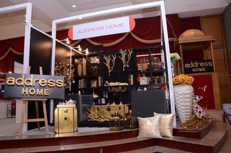 #Luxury #HomeDecorItems to spruce up your home also adding a unique touch to your private space by #AddressHome exclusively at #HouseFullExhibition by #RamolaBachchan.