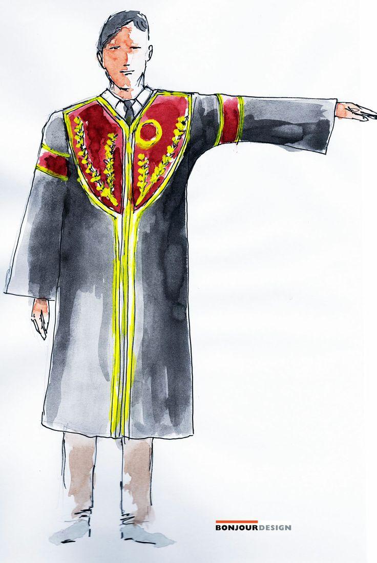 ACADEMIC DRESS OF AUEB BY BONJOUR DESIGN CONSULTANTS