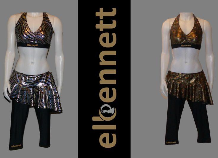 Une collection de vêtements conçue pour la pratique de la danse.