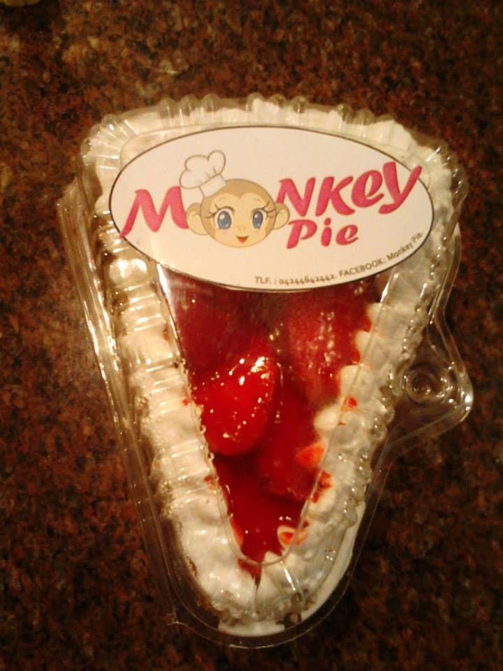 Torta de fresas con crema (Porción individual)