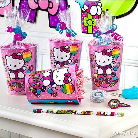 hello kitty party ideas favors click to view larger