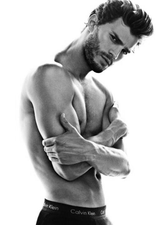 Jamie Dornan | Dudeoir - Dudoir - Male Boudoir - Photography - Portrait - Editorial - Pose Idea - Pose Inspiration