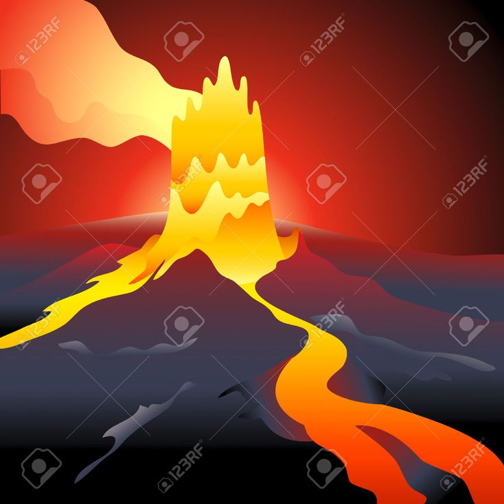 volcanoes clipart - Google Search