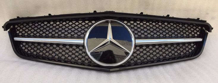 2010-2013 MERCEDES E CLASS W207 COUPE SLS LOOK GRILLE GRILL BLACK E350 E550 NEW #HOWELL