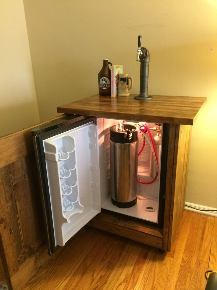 Danby DAR044A6BSLDB Kegerator Cabinet Build - Home Brew Forums