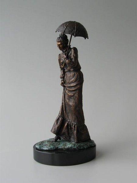 """Woman with Umbrella"""