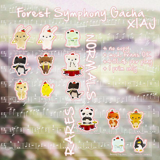 XIAJ + Forest Symphony Animal Gacha @ Forest Spring Concert Mini-Event