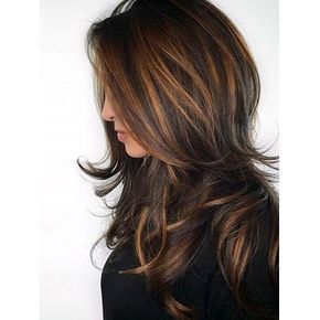 Long Side Bang Layered Natural Straight Colormix Synthetic Wig   Gearbest Mobile