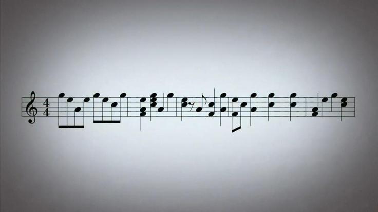 Hoy he aprendido que una partitura puede generar tanto emociones como sensaciones.  Nuestras presentaciones actúan de la misma manera que una partitura: por un lado produce una sensación mantenida en el tiempo y por otro un vaivén de emociones.  Ambos aspectos son importantes para poder entregar la 'música' a nuestra audiencia