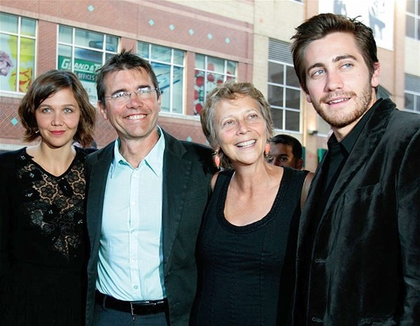 The Gyllenhaal family are all in the movie business. Maggie and Jake are both actors, their father Stephen is a director and mother Naomi Foner is a writer-producer.