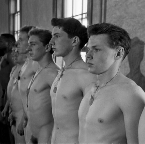 Phrase Nude male military physical exams