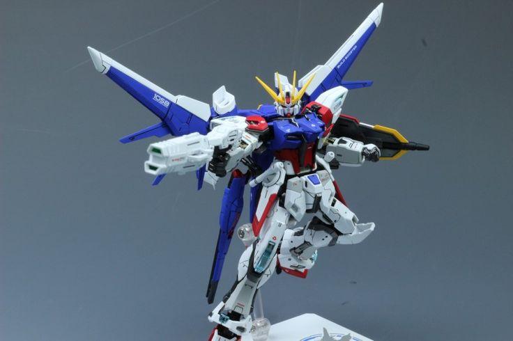 Custom Build: RG 1/144 Build Strike Gundam Full Package