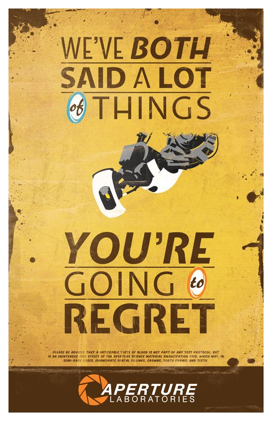 We've both said a lot of things you're going to regret by Kelly Acebal #portal