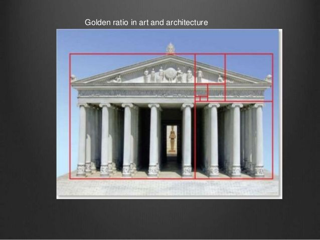 Golden rectangle over the Parthenon, Athens Greece.