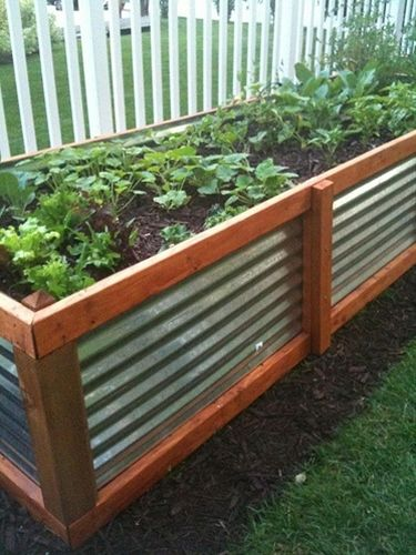Raised bed vegetable garden for Beautiful raised bed vegetable gardens