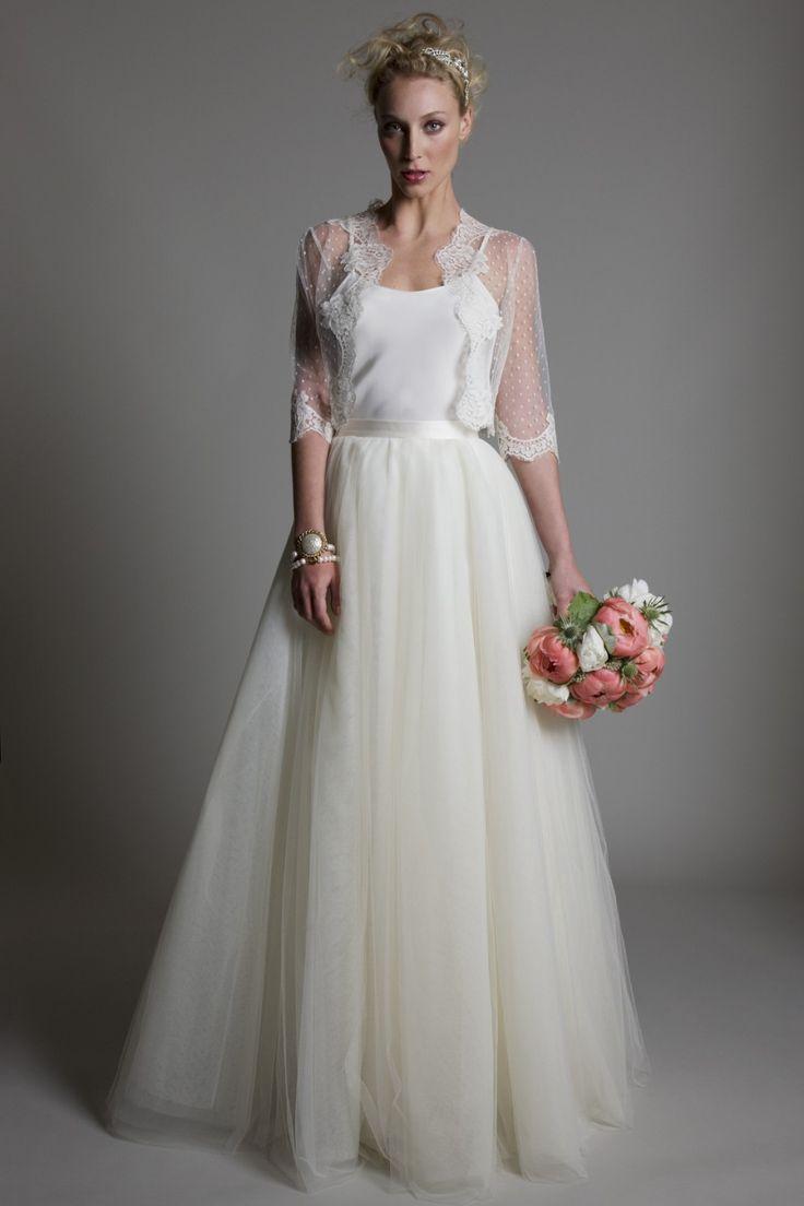 Bridal wedding dresses lace for Silk vintage wedding dresses