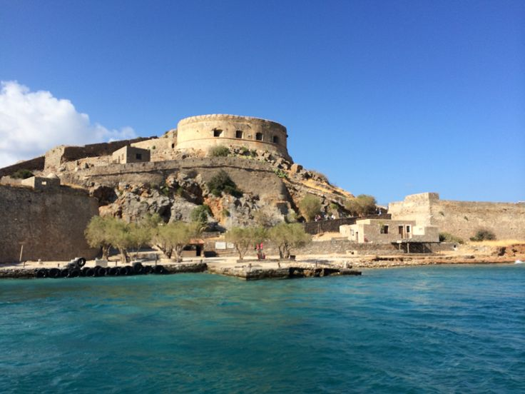 Spinalonga. Only a 45' drive from Milatos village #theisland #victoriahislop #sea #crete #greece #summer #holidays