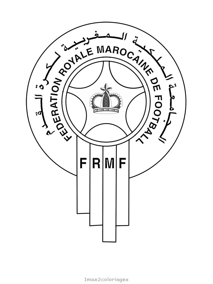 Logo Football Maroc Team Coloriage Football Coupe Du Monde 2018 Coupe Du Monde