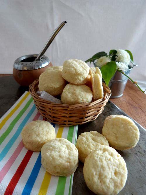 Bizcochitos de crema: una receta rápida, fácil y nuy rica, con solo tres ingredientes!